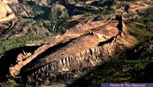 Foto Situs Perahu Bahtera Nabi Nuh